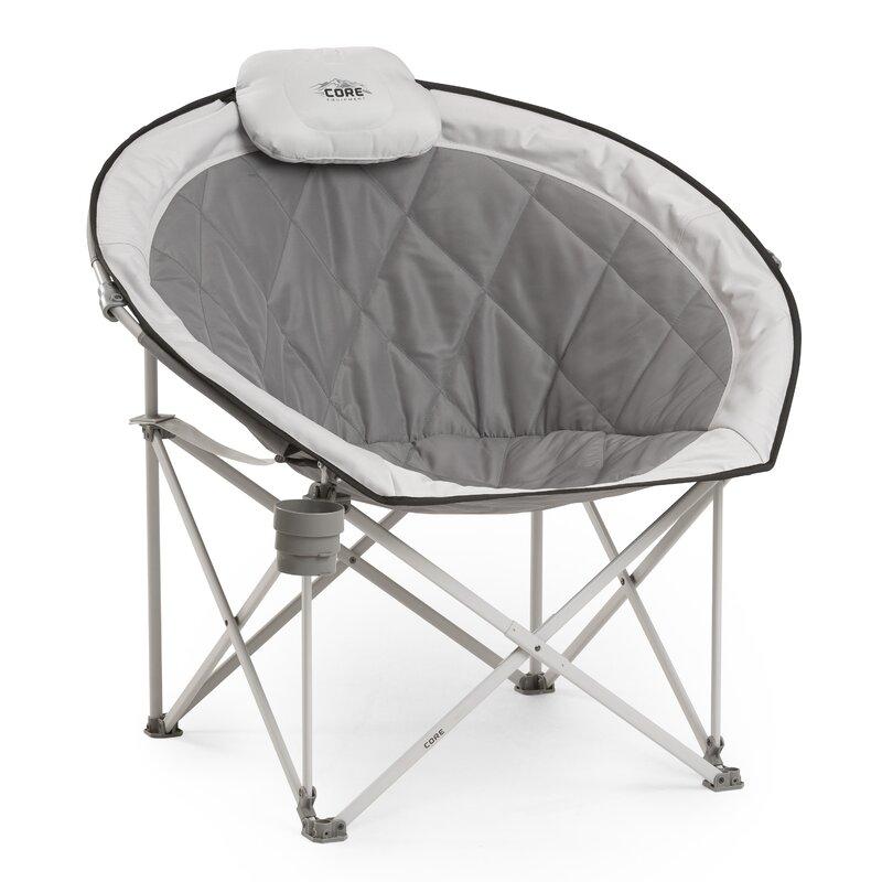 coreequipment folding camping chair & reviews | wayfair