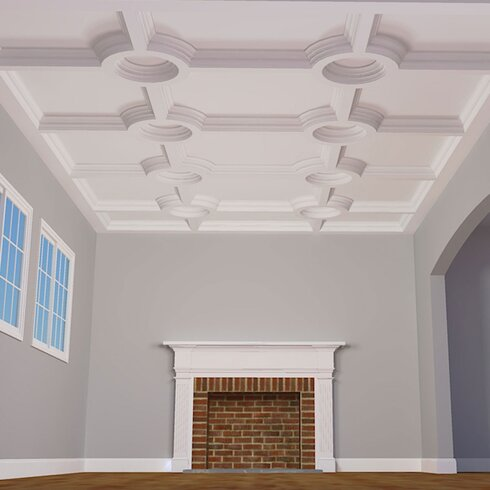 Inner Beam 8 H X 96 W 4 D Coffered Ceiling