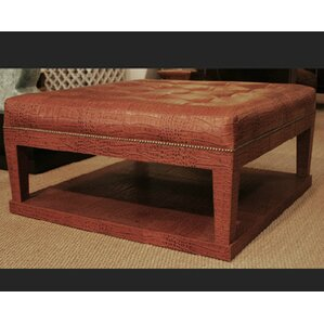 Leather Coffee Table with ..