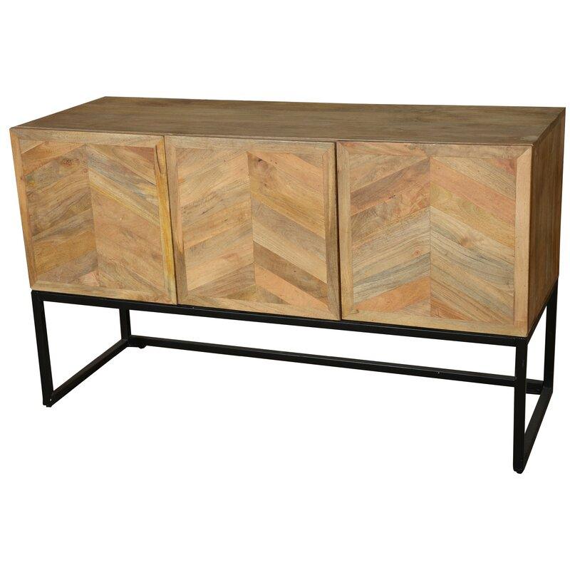 Bungalow Rose Wageningen Storage Buffet Table With Winerack Wayfair