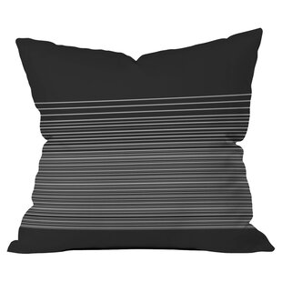 Matt Leyen Gradient Dark Outdoor Throw Pillow