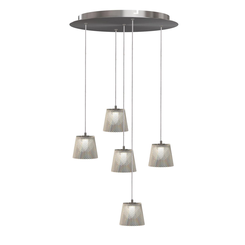Orren Ellis Emerie 5 Light Cluster Cone Pendant Wayfair