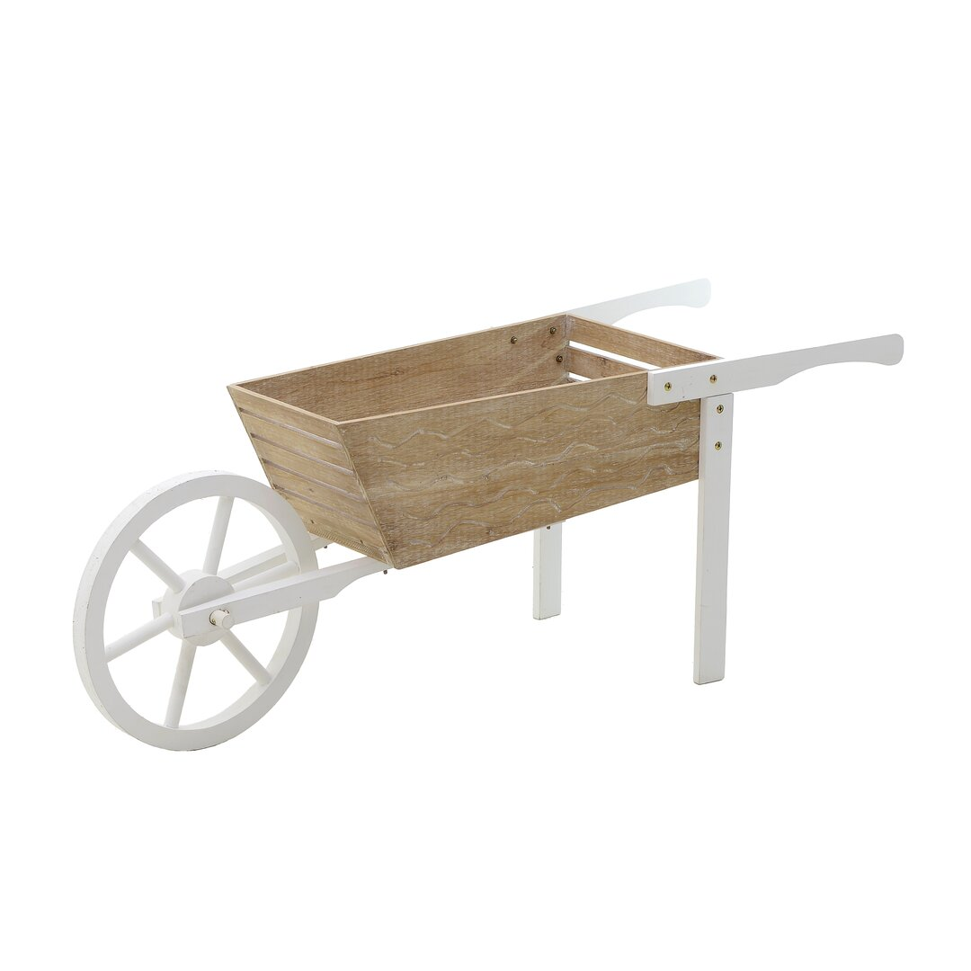 Kermit Wheelbarrow Planter