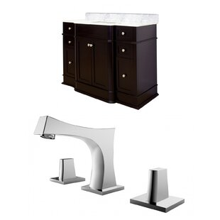 Review Rocco 50 Single Bathroom Vanity Set by Royal Purple Bath Kitchen