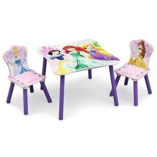 Disney Princess Children's Table And Chair Set By Disney Princess