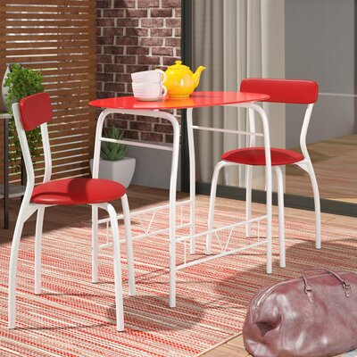 Paugh Space Saver 3 Piece Bistro Set by Ebern Designs New Design