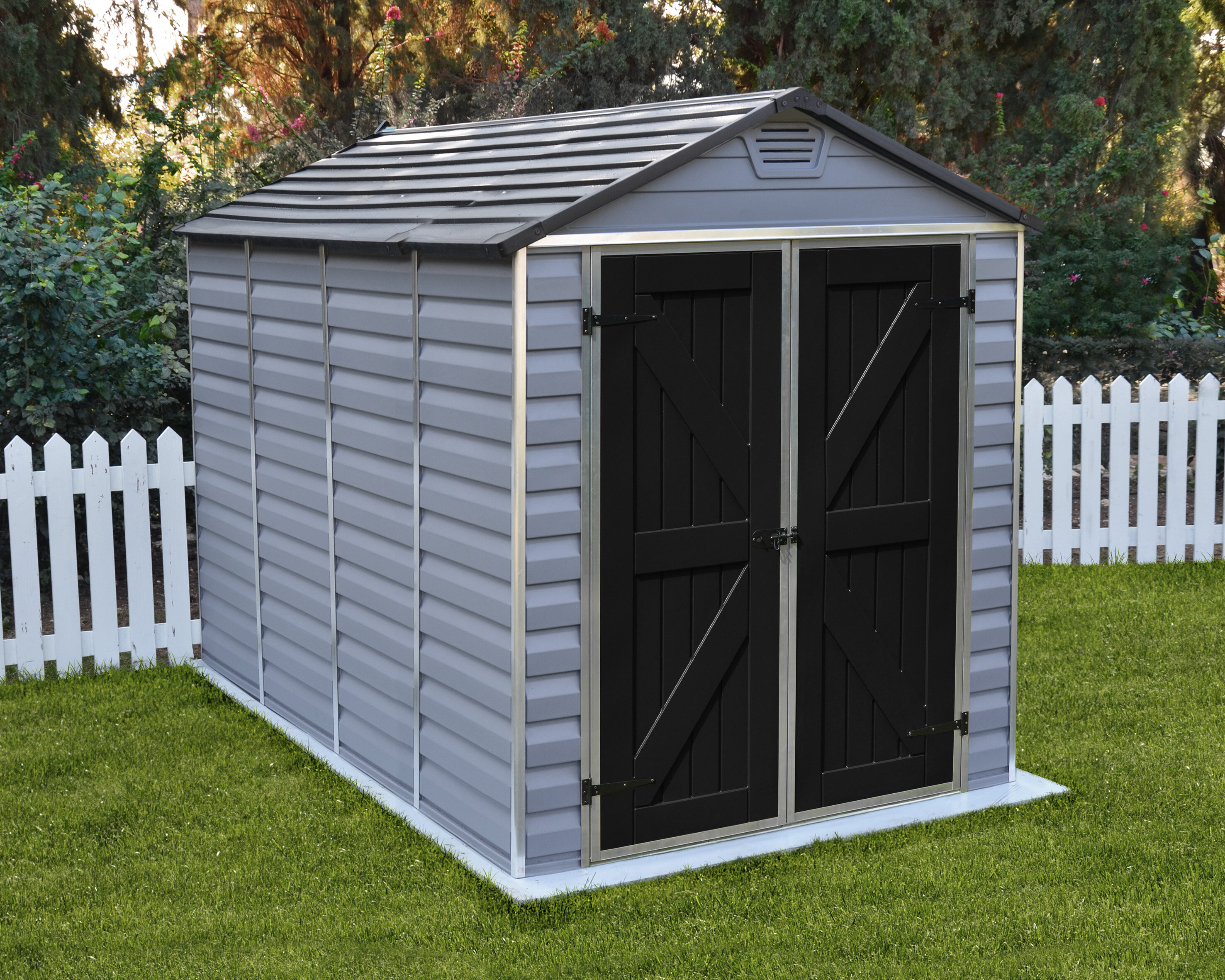 outdoor storage wayfair x reviews pdx shed plastic d sheds w ft skylight palram