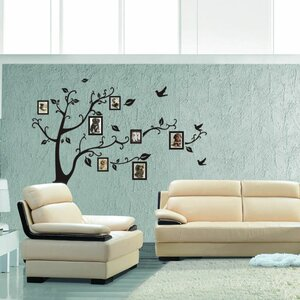 Tree to Showcase Your Picture Wall Decal