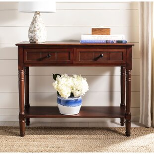 Beachcrest Home Manning 2 Drawer Console Table