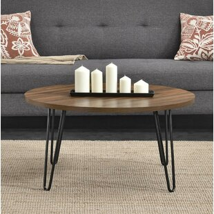 Forest Park Retro Coffee Table with Tray Top