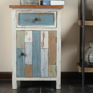 Cecile 1 Drawer Accent Cabinet by Highland Dunes