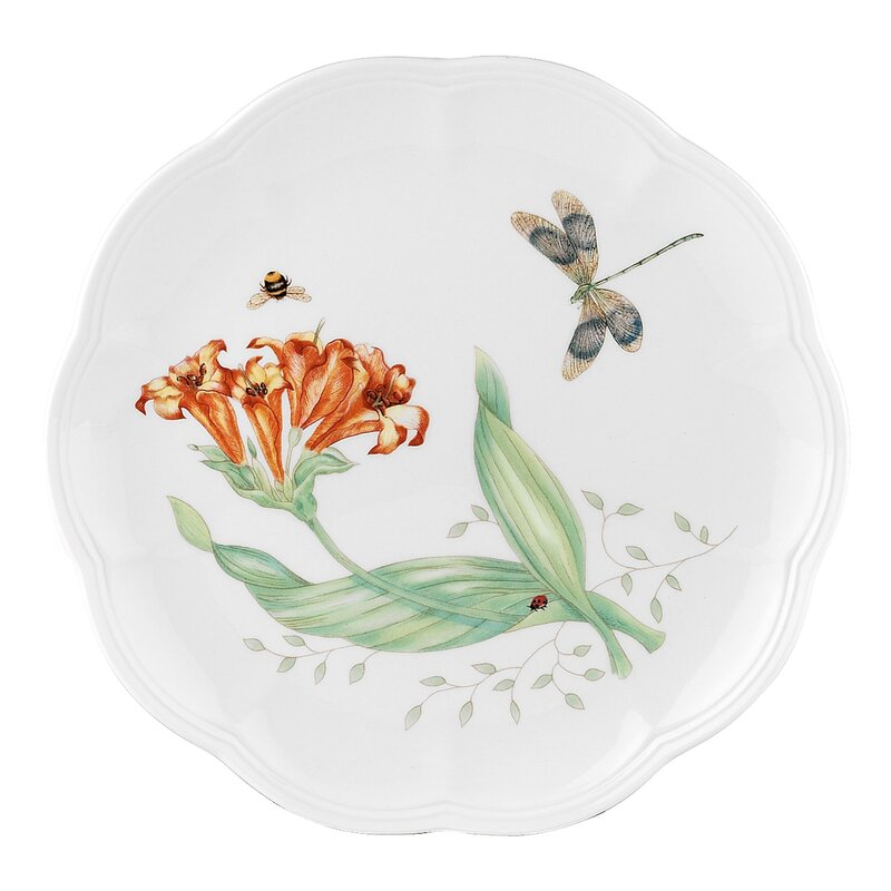"""Butterfly Meadow 9"""" Charger"""