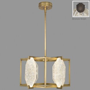 Fine Art Lamps Allison Paladino 24-Light Square/Rectangle Chandelier