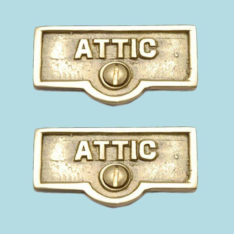 The Renovators Supply Inc Switch Tags Attic Name Signs 1 Gang Rocker Wall Plate Wayfair
