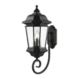 Bibb 3-Light Outdoor Wall Lantern by Fleu..