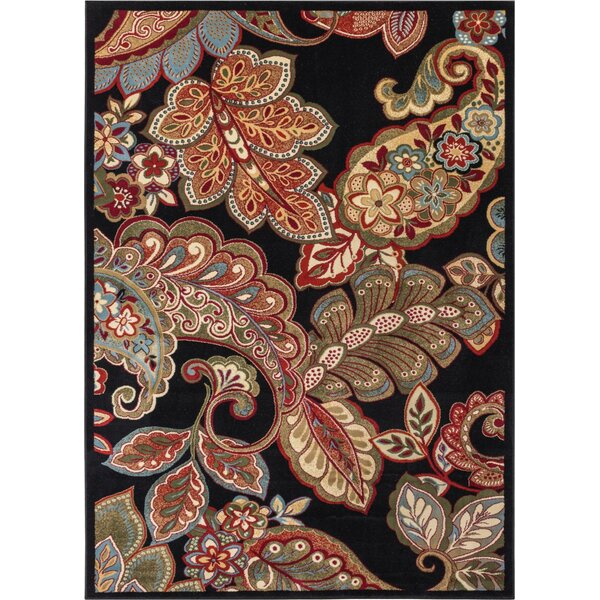 Exceptional Well Woven Wallaby Paisley Park Black Area Rug U0026 Reviews | Wayfair