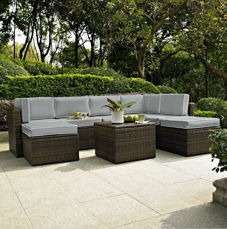 Belton 8 Piece Sectional Set with Cushions