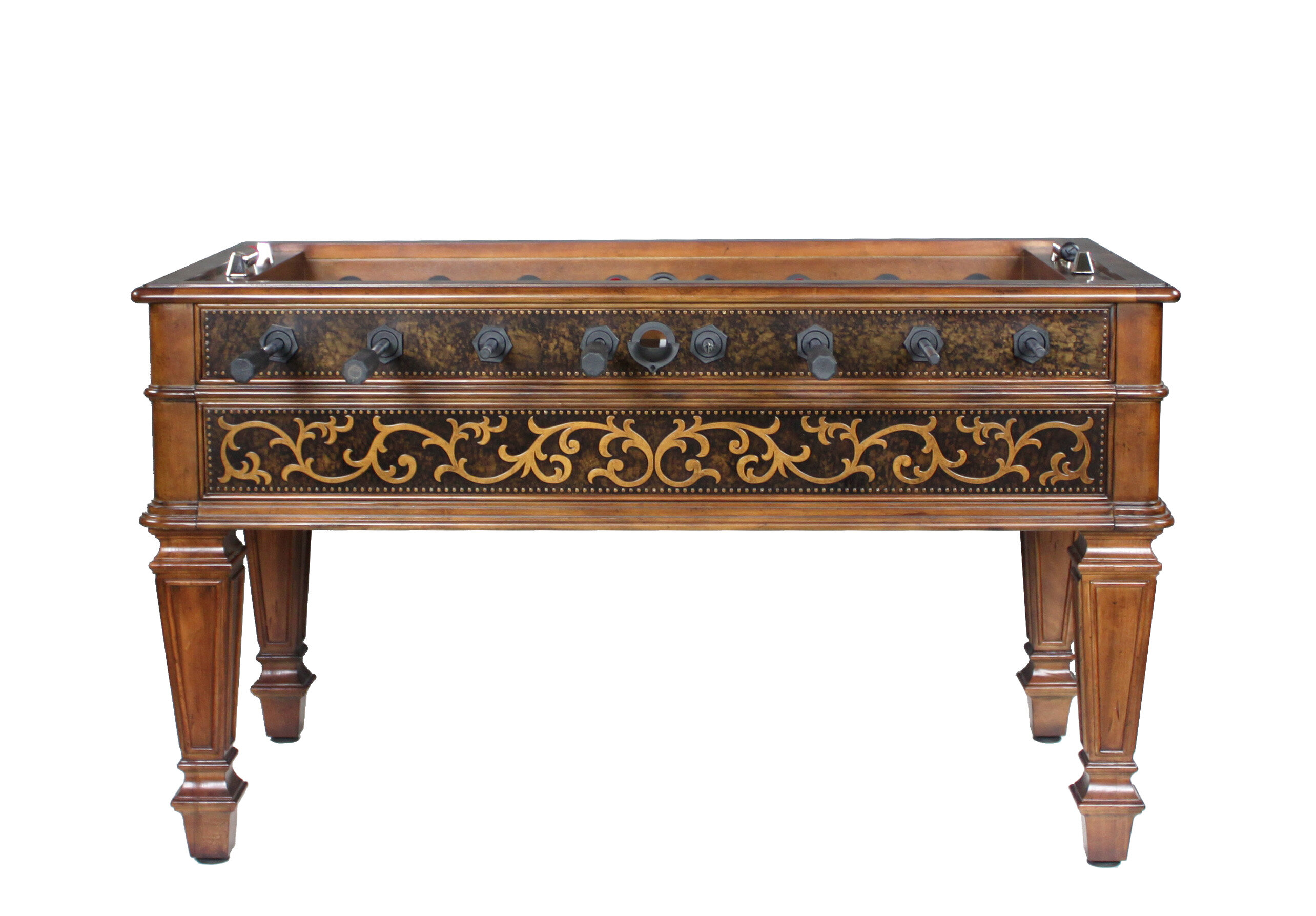 Ambella Home Collection Sophisticated Foosball Table Wayfair - Antique foosball table for sale