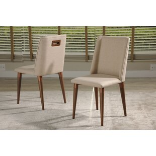 Tatman Upholstered Dining Chair (Set of 2) Union Rustic