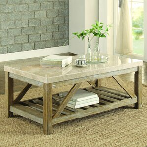 Bellas Coffee Table by Gracie Oaks