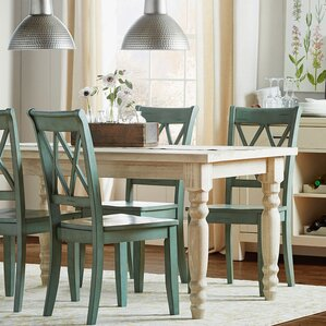 Pictures Of Dinner Tables white kitchen & dining tables you'll love | wayfair