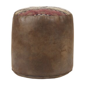 Deer Valley Tapestry Pouf Ottoman by American Furniture Classics