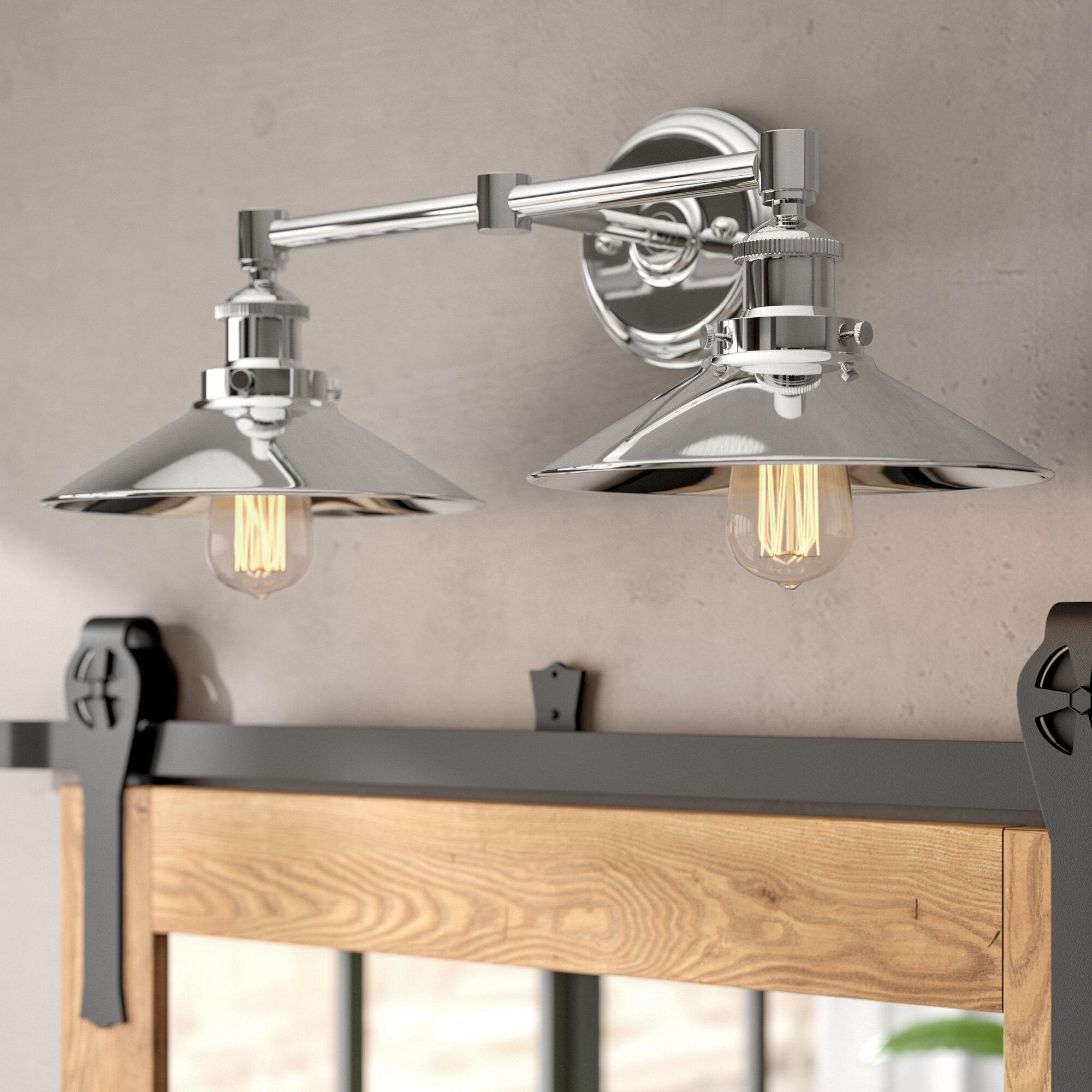 Polished Chrome Bathroom Vanity Lighting You Ll Love In 2021 Wayfair