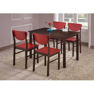 Alesha 5 Piece Dining Set Zipcode Design