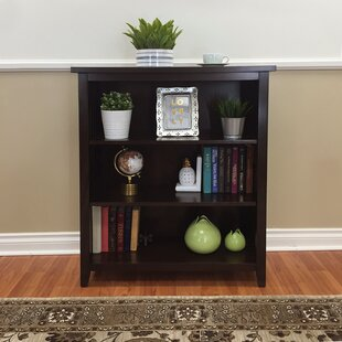 Red Barrel Studio Fella 3-Shelf Standard Bookcase