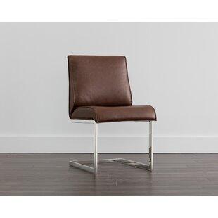 Irongate Draper Upholstered Dining Chair (Set of 2) Sunpan Modern