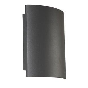 Order Stoll Rectangular 1-Light LED Outdoor Sconce By Orren Ellis