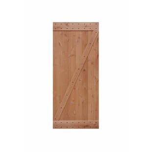 Wood American Paneled Barn Door