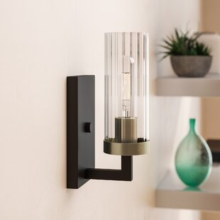 Karns 1-Light Bath Sconce by Brayden Studio