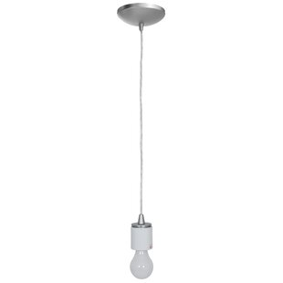 Ebern Designs Ferragamo 1-Light Bulb Pend..
