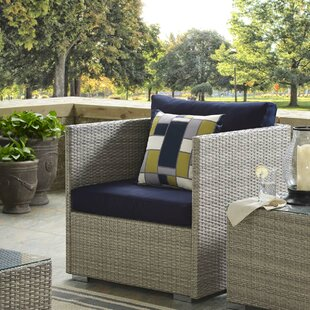 Highland Dunes Heiner Patio Chair with Su..