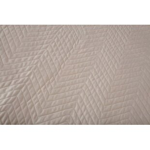 Gent Washable Quilted Cotton Crib Mattress Pad