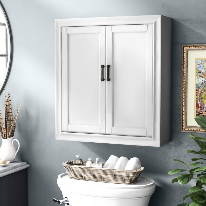 Andover Mills Jesse 23 75 W X 26 H X 8 D Wall Mounted Bathroom Cabinet Reviews Wayfair