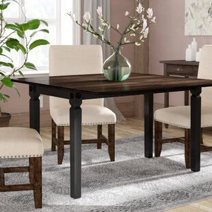 Marchan Drop Leaf Solid Wood Dining Table