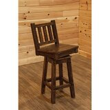 Angelica Swivel Bar & Counter Stool by Millwood Pines