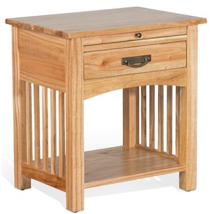 Where buy  Bryony 1 Drawer Nightstand by Millwood Pines