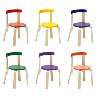 Great deal Bentwood Curved Back Kids Chair (Set of 6) By ECR4kids