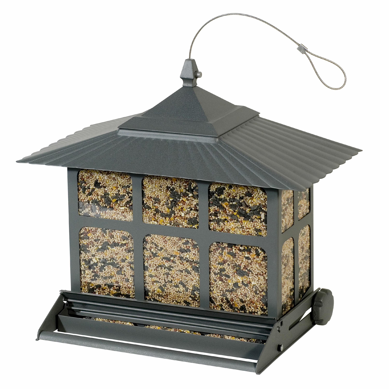 Birdscapes Squirrel-Be-Gone II Hopper Bird Feeder   Wayfair