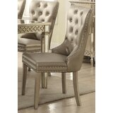 Karina Upholstered Dining Chair (Set of 2) by Andrew Home Studio