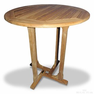 Solid Wood Bar Table by Regal Teak