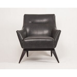 Wilmington Transitional Club Chair by George Oliver