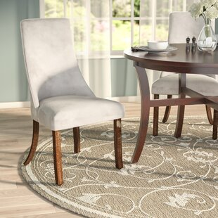 Barrington Parsons Chair (Set of 2) by Three Posts
