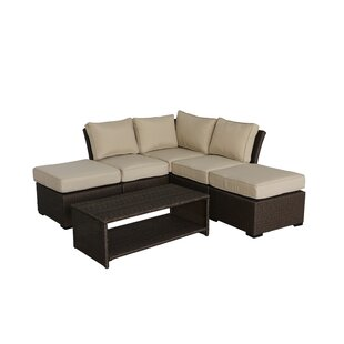 Jaidon 6 Piece Sectional Set with Cushions