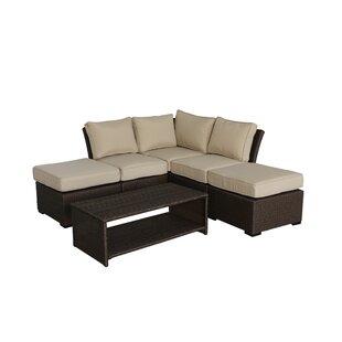 Jaidon 6 Piece Sectional Set with Cushions