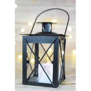 Charlton Home Traditional Metal Lantern