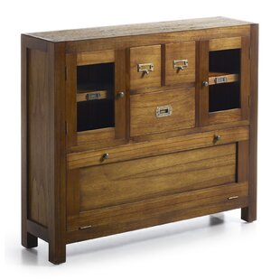 Guildhall 3 Drawer, 2 Door Shoe Cabinet By Bay Isle Home